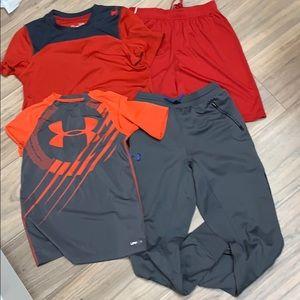Under Armour Boys/' Short Set T-Shirt Tank Top Size 12M 24M 18M 2T NWT